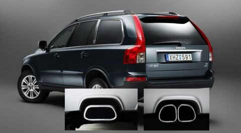 XC90 End Pipes